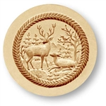 Stag And Doe Deer Springerle Cookie Mold