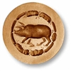 Pig With Wurst Springerle Cookie Mold