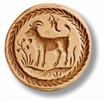 Goat Springerle Cookie Mold