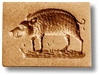 Wild Boar Small Springerle Cookie Mold