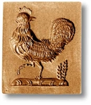Rooster In Rectangle Springerle Cookie Mold