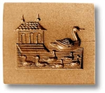 Paddling Ducks Springerle Cookie Mold