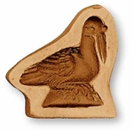 Small Pelican Springerle Cookie Mold