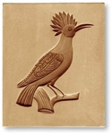 Hoopoe Bird Springerle Cookie Mold