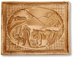 Cattle Drive To The Summer Alpen Pastures Springerle Cookie Mold