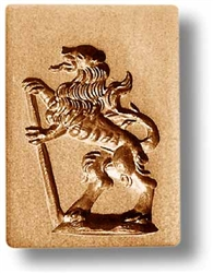 Lion Springerle Cookie Mold