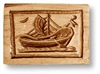 Sailboat Springerle Cookie Mold