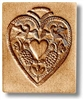 Heart For Engraving Springerle Cookie Mold