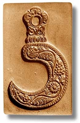 Floral Sickle Springerle Cookie Mold