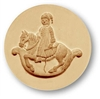 Rocking Horse Springerle Cookie Mold