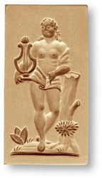 Apollo Phoebis God Springerle Cookie Mold