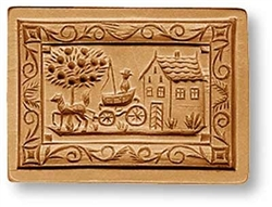 The Departure Springerle Cookie Mold