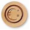 Moon With Two Stars Springerle Cookie Mold