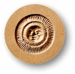 Small Sun Springerle Cookie Mold