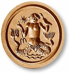 Zodiac Aquarius Springerle Cookie Mold
