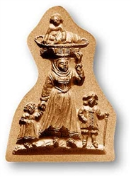 Mother With Children Springerle Cookie Mold