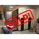 Used High Density Hand Crank Shelving, #36555-FIL-1