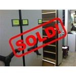 Used High Density Manual Assist Shelving-SOLD!, #36555-FIL-2