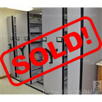 Used High Density Mobile Shelving for $2,000.00, #36555-FIL-9