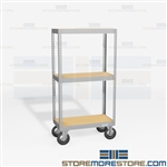 Archival Box Shelves Wheels Carts Rolling Racks Moving File Record Box Storage