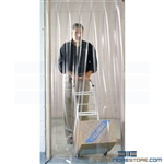 Clear Plastic Vinyl Strips Pedestrian Doorway Entrance Curtain Buy Online Nexel