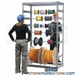 High Capacity Reel Racks (4'W x 2'D x 7'H), #SMS-04-RDR24488
