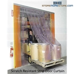Vinyl Doorway Strips Plastic Transparent Barrier Door Curtain Insulation Seals