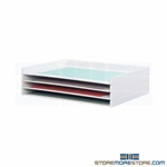 Stacking Large Document Storage Trays