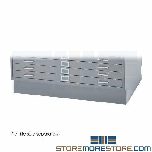 6 base flat file cabinet 4994 recessed mayline 7867w safco 4995 alternative views malvernweather Gallery
