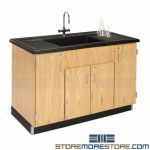 Chemical Clean-up Counter Sink Class Lab Furniture School Science Workstation
