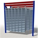 Pick Bins for Pallet Racks Adding Small Storage Cubbies Maximize Warehouse Space