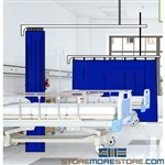 Patient Room Curtain with Track