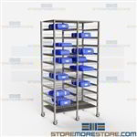 Storage Shelves for Surgical Kits Racks Operating Room Sterile Instruments Tears