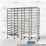 Storage Racks for Surgical Packs Shelves Protect Wrap Tears Sterile Instrument