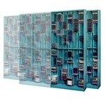 Add On Media Storage CD and DVD Rack holds up to 3000 CD Jewel Cases