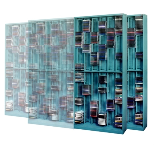 Add On Media Storage Sliding Cd Rack Cd Jewel Case Sliding Storage