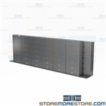 Rolling Track Cabinet Systems Mobile Legal Size File Storage Free Shipping