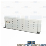 Side Track Legal File Cabinets Storing Files Less Floorspace Siding Shelving