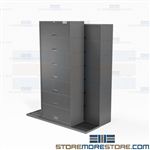 Sliding Binder Size Cabinets Office File Storage Mobile Rolling Systems Online