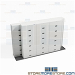 Compact Sliding Cabinets Rolling Storage Systems on Tracks Buy Online Ships Free