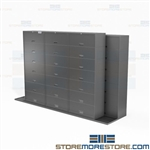 Side-to-Side Sliding Cabinets Mobile Rolling Storage Systems Buy Online Datum