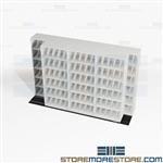 Storage Racks 2-Deep Shelves X-Ray Save Floorspace High Capacity System Datum