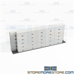Space Saving Binder Cabinets Storing Notebooks Less Floor Space Free Shipping
