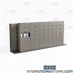 Mobile Track Cabinets Rolling Slider Storage Systems File Binder Buy Online