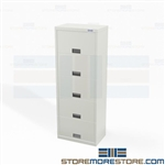 End Tab File Cabinet Storage Five Levels Cubical Partition Height Stak-n-Lok