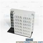 Sideways Sliding Shelves X-Ray 3-Deep Storage Rack TriSlider Cabinets Datum