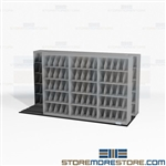 Tri-File Lateral Sliding X-Ray Shelves Less Space Compact Storage Cabinets Datum