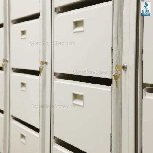 Rotary File Cabinets | Easy Rotary Files | Rotating File Shelf ...