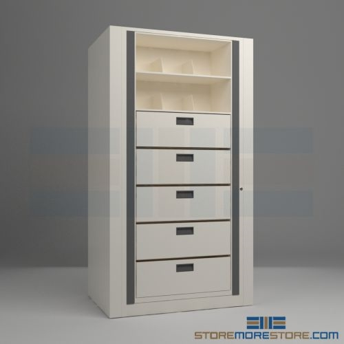 Legal size pivot cabinets unit 10 file drawers 3 storage shelves alternative views malvernweather Choice Image