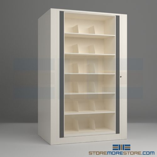 Rotary File Cabinet, 6 Shelf Legal-size Starter Unit 45-1/2